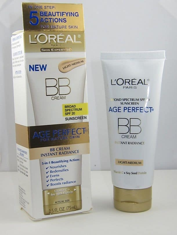 L'Oreal Paris Age Perfect BB Cream Broad Spectrum SPF-20 Sunscreen Instance Radiance