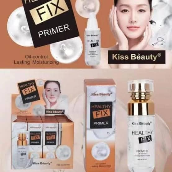 Kiss Beauty Healthy FIX Primer  Oil Control  Lasting Moisturizing
