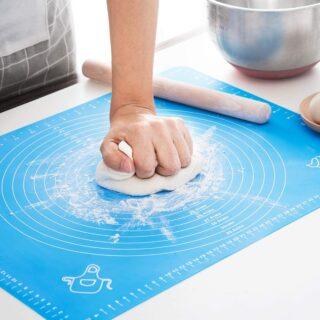 Silicon mat flour non slip non stick